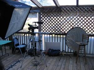 Documentary Film How-To, lighting setup for on-scene interviews